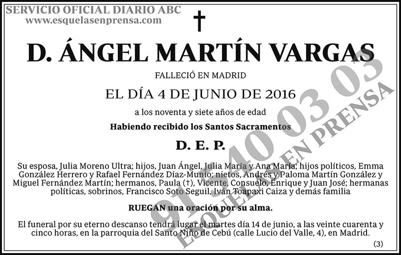 Ángel Martín Vargas
